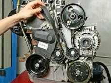 Замена ремней агрегатов